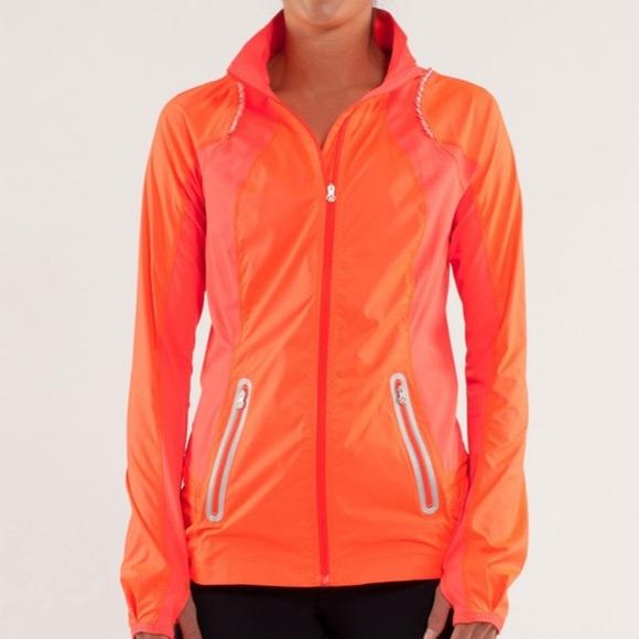 Size 6 Lululemon Nothing But Run Jacket